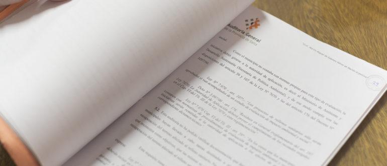 Cuenta General del Ejercicio 2018