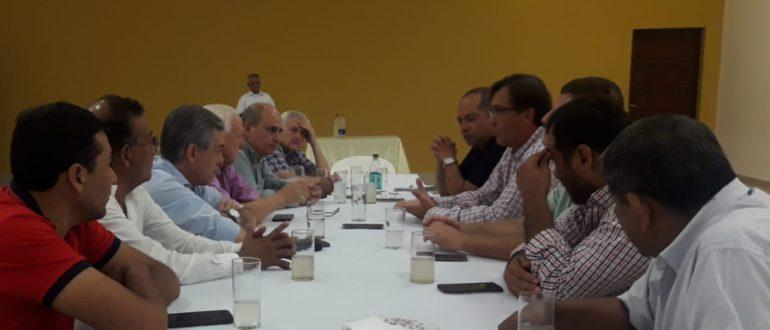 Reunion del Colegio con intendentes